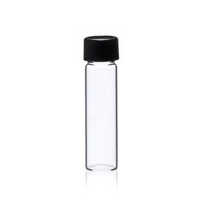 2 Dram Clear Glass Vials 17mm X 60 Mm Wcaps 144 Pcs