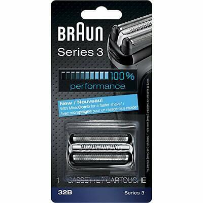 Genuine Braun Series 3 32B Foil and Cutter Replacement Head - Brand (Braun Series 3 Replacement Foil And Cutter)
