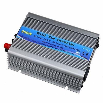 Grid Tie (600W MPPT Grid Tie Inverter DC22-60V to AC230V Solar Micro Inverter Eu-Stecker)
