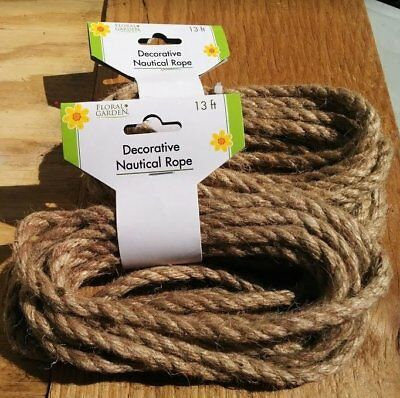Diy Nautical Decor (Special! New 26 Feet Decorative Nautical Rope - DIY & Craft Projects Home Decor)