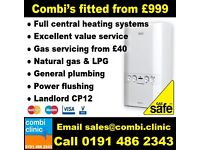 Gas servicing, new combi boilers, plumber , central heating, cooker points, radiators etc