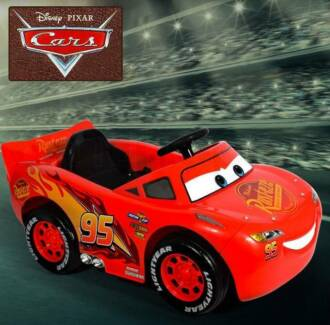Lightning McQueen Electric Ride On Car Genuine Cars 3 Children