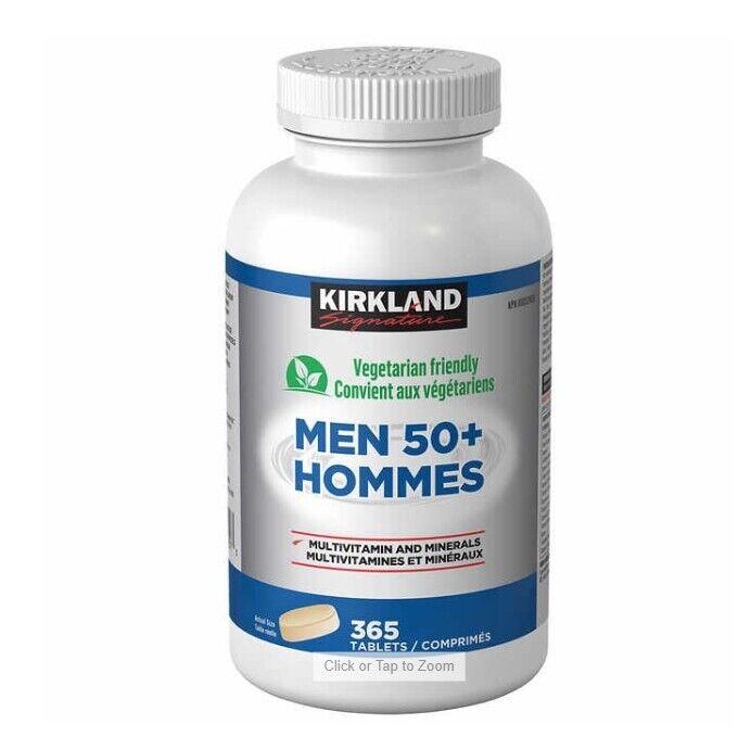 Kirkland Signature Men 50+ Multivitamin, 365 Tablets