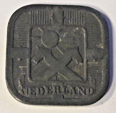 Niederlande - Netherlands 5 Cents 1942 - Dutch Nederland Pays bas