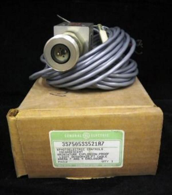 GENERAL ELECTRIC PHOTOELECTRIC SENSOR 3S7505SS521A7 (MISSING SENSOR END)