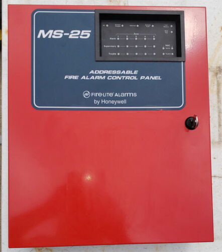 FIRELITE MS-25 Fire Alarm Panel