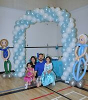 Twisted Shapes Balloon Art