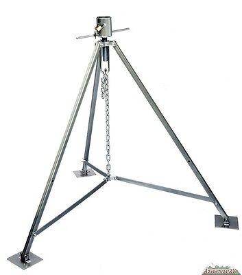 New Ultrafab Fifth 5th Wheel King Pin Tripod Stabilizer Jack Support w/ -