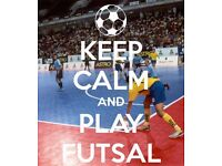 mens FUTSAL team looking for new players