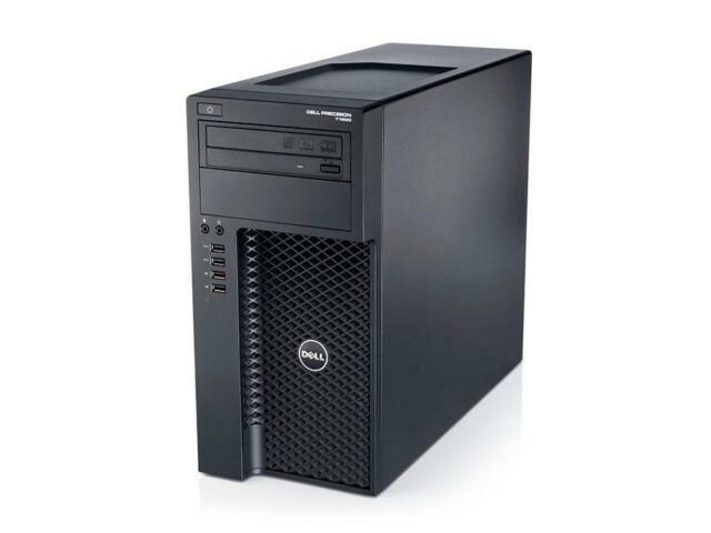 Dell Precision T1650 Xeon E3-1240v2 4x 3, 40GHz 8GB 256GB SSD Quadro K600 RW W10