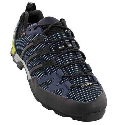 1e55fc507 Adidas BB0785 Terrex Scope GTX Blue Black Navy Men s Hiking Shoes