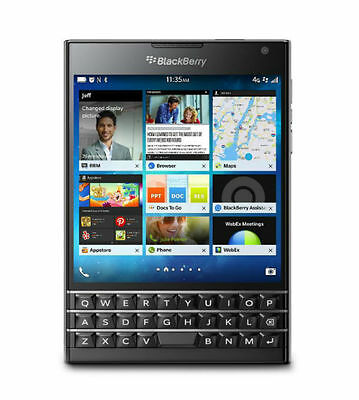 Blackberry Passport BLACK 32GB 4G 3GB Ram SMARTPHONE (FACTORY UNLOCKED)Brand New