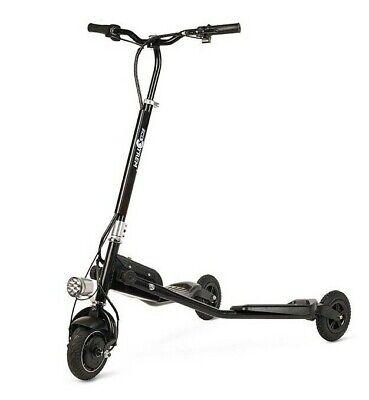 Patinete electrico plegable 250w scooter con 3 ruedas niños niñas negro adultos