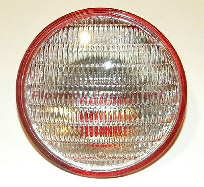 Tractor Combo Tail Work Light Sealed Beam Red Back 4 12 12 Volt 4409x For Many