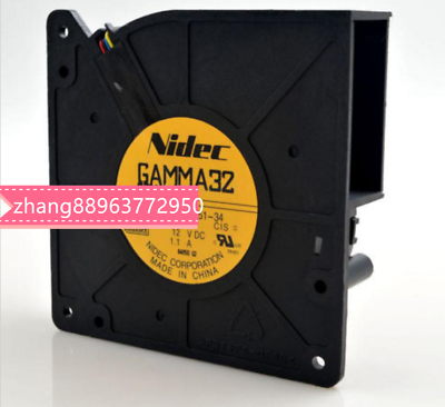 For NIDEC A35451-34CIS Cooling fan Turbo Blower DC12V 1.1A 4pin #3