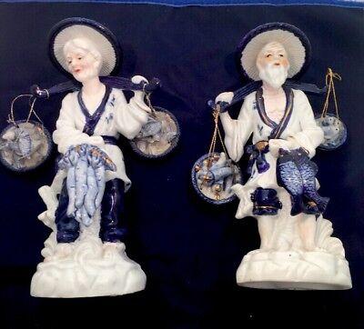 Pair of Vintage Japanese Porcelian Figurines in very good condition