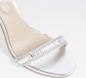 Aldo silver sandles