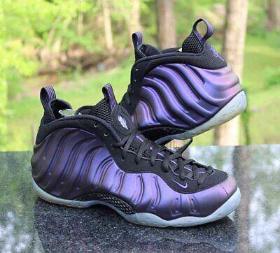 e73900d4cf7 Nike Air Foamposite One Eggplant Men s Size 12 Black Purple 314996-008