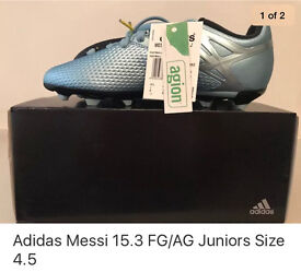 Adidas Junior football boots 4.5 Messi