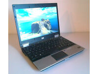 """Could Deliver - HP Elitebook 14"""" Laptop - Intel Core2Duo 3.6Ghz - 120Gb Space - Wireless - DVD-RW"""