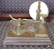 Brass Telegraph Key