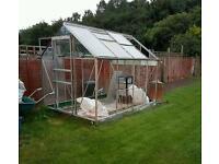 Halls Greenhouse 6x8