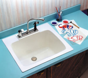Laundry Sink   Fibreglass   Made in USA