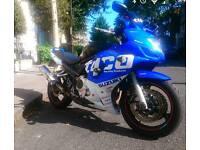 Suzuki GSX 650 motorbike