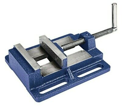 4 In Drill Press Vise Forged Steel Jaws Cast Iron