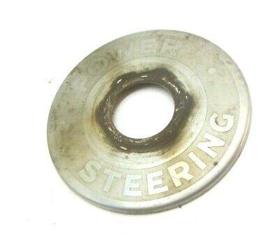 Used John Deere Tractor Steering Wheel Power Steering Emblem Tag F1744r