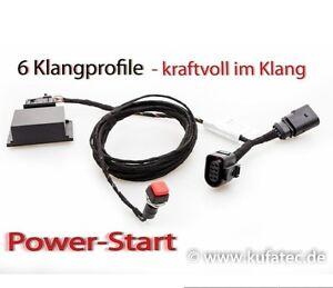 Soundbooster Pro Active V6 V8 Sound Audi A6 4G, A7 4G, SQ5