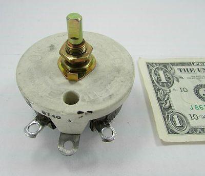 New Ohmite 50 Ohm 1.0a Ceramic Variable Resistors Rheostat Dimmer 6558250 Pot