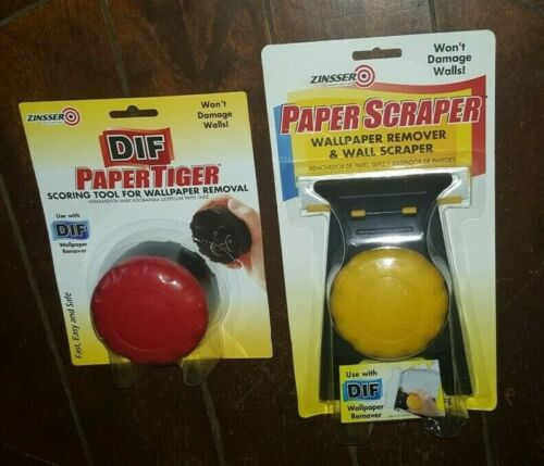 Zinsser Paper Scraper - 2986 & DIF Paper Tiger- 2986 *For Wall Paper Removal*