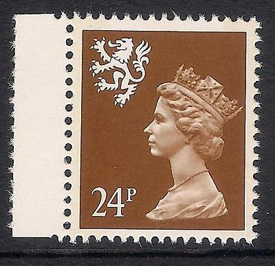Scotland 1993 S71 24p litho 2 bands booklet stamp MNH