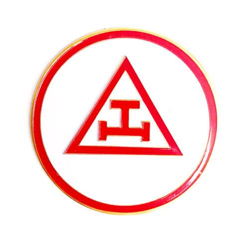 Royal Arch Masons 2 3/4 inch car emblem #CRA