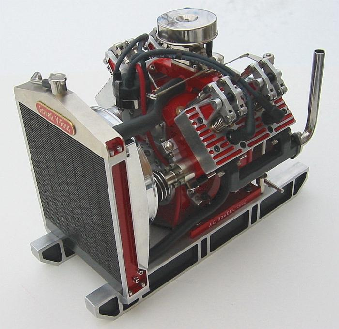 Howell V-Four - 4 Cycle Gas Engine Plans PDF