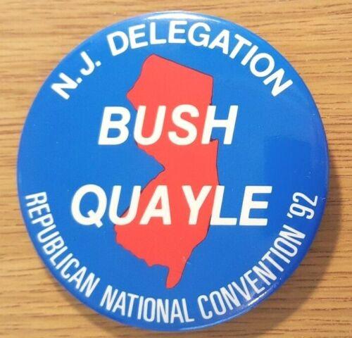N.J. (New Jersey) Delegation Bush Quayle RNC