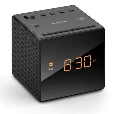 Sony ICF-C1 AM/FM Alarm Clock Radio - Black