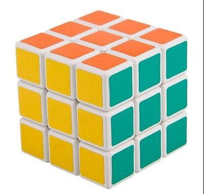 Shengshou 3x3x3 Ultra-smooth Spring Speed Magic Cube 3x3 Puzzle White Xmas Gift