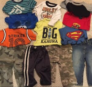 Mixed lot of 12-18 and 18-24 months boys clothes