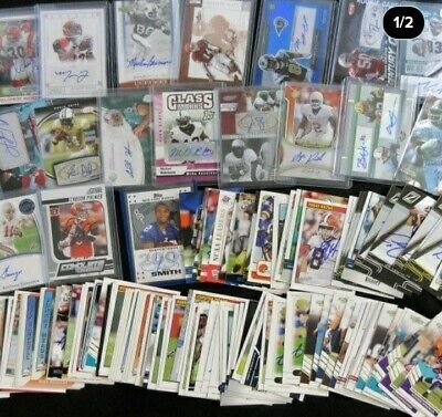 BEST NFL HOT PACK IN TOWN !!! 1 auto AND 1 jersey card guaranteed + 2ref 2pp (Best Football Jersey 2019)