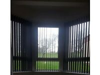 Black vertical blinds for sale!