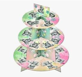 3 TIER CAKE STAND - ME TO YOU - TATTY TED DESIGN