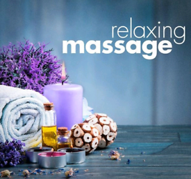 Relaxing massage therapist