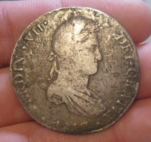 Peru - 1818 Large Silver 8 Reales