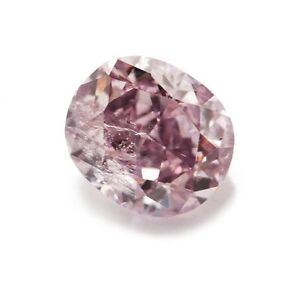 Purple Diamond - Loose Color Diamond 0.16ct Natural Fancy Intense Pinkish Purple