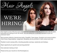 Hiring licensed cosmetologist