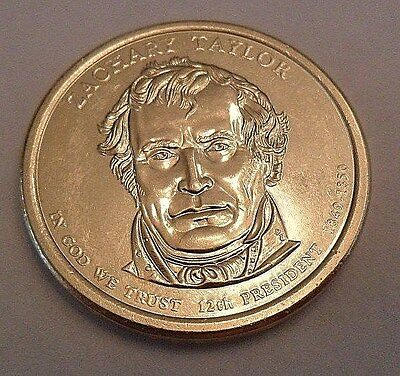 2009 D ZACHARY TAYLOR PRESIDENTIAL DOLLAR COIN  **FREE SHIPPING** (Free Presidential Dollar Coins)