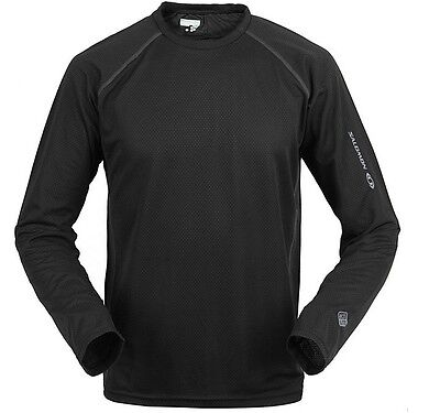 a2a2a4dee6c5f SALOMON - M Long Sleeve Hiking QuickDry T Shirt Men ultraviolet protection  UV35+