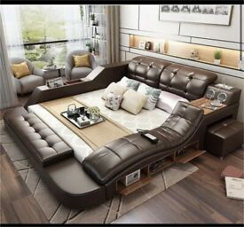 Luxury multifunctional bed *LEATHER*